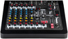 Allen & Heath ZEDI-10FX ZED Series 10 Channel Hybrid Compact USB Mixer with Effects (Black)