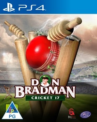 Don Bradman Cricket 17 (PS4) - Cover