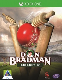 Don Bradman Cricket 17 (Xbox One) - Cover