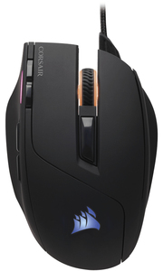Corsair - Saber Optical RGB Gaming Mouse - Black with customizable RGB - Cover