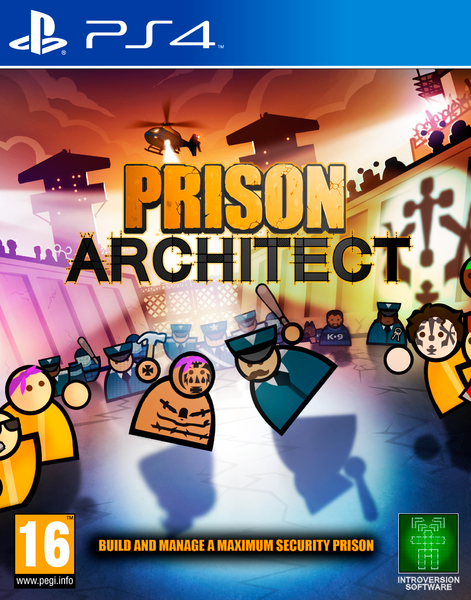Bildresultat för prison architect ps4 cover