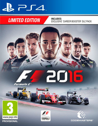 F1 2016 (PS4) - Cover