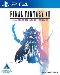 Final Fantasy XII: The Zodiac Age (PS4) - Cover
