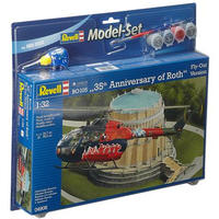Revell - 1/32 - BO 105 35th Anniversary of Roth Fly-Out Version Gift Set (Plastic Model Kit)