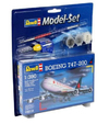 Revell - 1/390 - Boeing 747-200 Model Set (Plastic Model Kit)