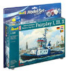 Revell - 1/144 - Harbour Tug Boat Model Set (Plastic Model Kit)