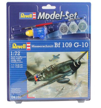 Revell - 1/72 - Messerschmitt Bf-109 Model Set (Plastic Model Kit) - Cover