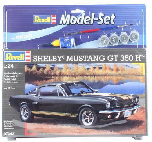 Revell - Model Set Shelby Mustang GT 350 H 1/24 (Plastic Model Kit)