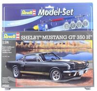 Revell - 1/24 - Shelby Mustang GT 350 H Model Set (Plastic Model Kit) - Cover
