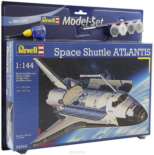 revell germany space shuttle atlantis model kit - photo #20