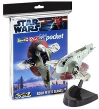 Revell - 1/160 - Star Wars Boba Fetts Slave 1 Easykit Pocket (Plastic Model Kit) - Cover