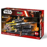 Revell - Star Wars Poe's X-Wing Fighter With Sound 1/78