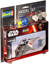 Revell - 1/52 - Star Wars - Snowspeeder [Includes brush, glue & paints] (Plastic Model Set)