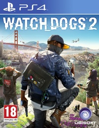 Watch Dogs 2 (PS4) - Cover