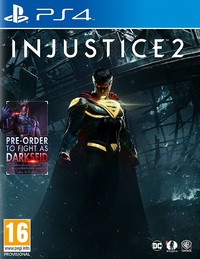 Injustice 2 (PS4) - Cover