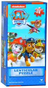 Paw Patrol Lenticular Tower Puzzle - 24 Pieces - Cover