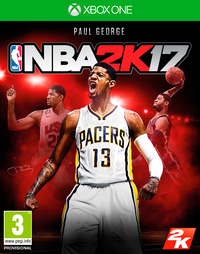 NBA 2K17 (Xbox One) - Cover