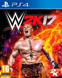 WWE 2K17 (PS4) - Cover
