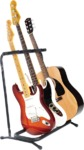 Fender Multi Stand Stringed Instrument Stand 3 Space (Black)