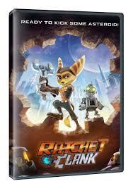 Ratchet & Clank (DVD) - Cover