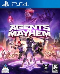 Agents of Mayhem (PS4) - Cover