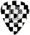 Planet Waves 1CCB2 Classic Celluoid Light Pick (Checkerboard)