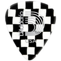 Planet Waves 1CCB4 Classic Celluoid Medium Pick (Checkerboard)