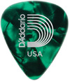 Planet Waves 1CGP4 Classic Celluoid Medium Pick (Green Pearl)