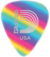 Planet Waves 1CRB2 Classic Celluoid Light Pick (Rainbow)