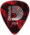Planet Waves 1CRP4 Classic Celluoid Medium Pick (Red Pearl)