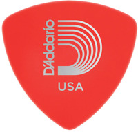 Planet Waves 2DRD1 Duralin Wide .50mm Supler Light Pick (Red) - Cover