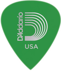 Planet Waves 6DGN4 Duralin Precision .85mm Medium Pick (Green) - Cover