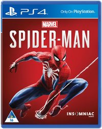 Spider-Man (PS4) - Cover