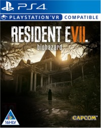 Resident Evil Biohazard (PS4) - Cover