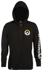 Overwatch Logo Men's Zip up Hoodie (Medium) - Cover