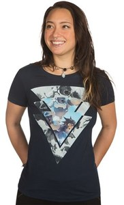 Overwatch For the Good Women's T-Shirt (X-Large) - Cover