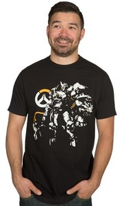 Overwatch Justice Will Be Done Premium T-Shirt (Large) - Cover