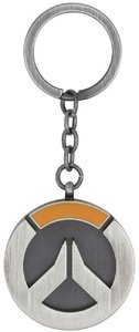 Overwatch Logo Keychain - Silver - Cover