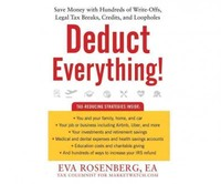Deduct Everything! - Eva Rosenberg (CD/Spoken Word) - Cover