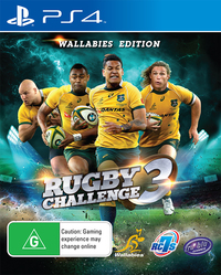 Rugby Challenge 3 - Wallabies Edition (US Import PS4) - Cover