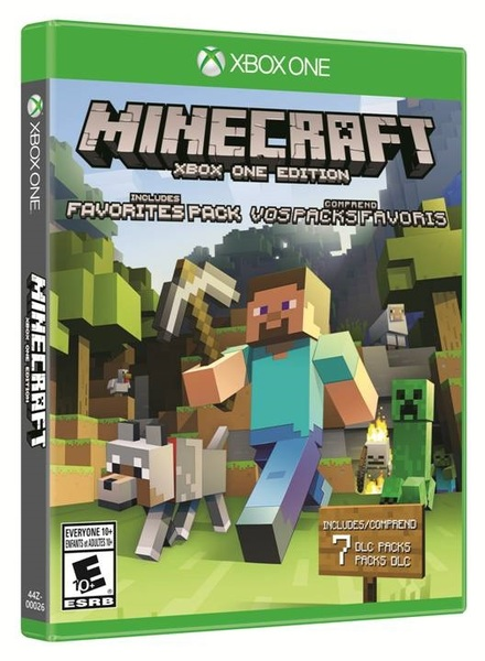 For Minecraft Pc Game Case : Minecraft favorites pack us import xbox one video