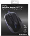 Kensington Pro Fit - Full Size USB/PS2 Wired Mouse