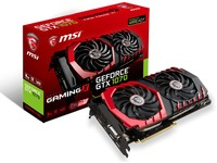 MSI nVidia GeForce GTX 1070 Gaming X 8GB GDDR5 Graphics Card - Cover