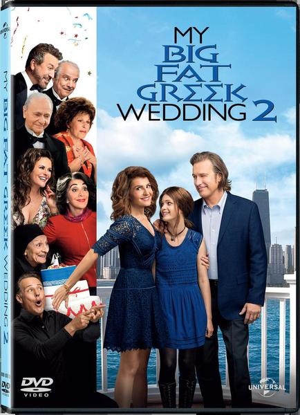 My Big Fat Greek Wedding 2.My Big Fat Greek Wedding 2 Dvd