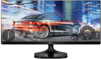 LG - 25UM58-P - 25 inch UltraWide Full HD IPS LED Monitor (Black) - Cover