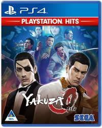Yakuza 0 (PS4) - Cover