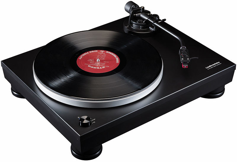 Audio Technica Audiophile Direct Drive Turntable With Usb