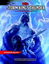 Dungeons & Dragons - Storm King's Thunder (Role Playing Game) - Cover