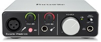 Focusrite iTrack Solo USB/Lightning Audio Interface (Silver) - Cover