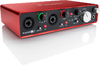 Focusrite Scarlett 2i4 4 Channel USB Audio Interface (2nd Generation)
